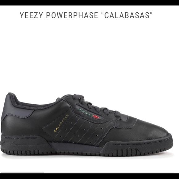 818a0a7ea0e2  NEW  Never worm Adidas Yeezy Powerphase Calabasas